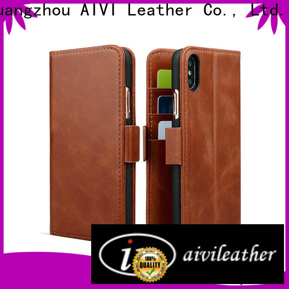 AIVI beautiful leather wallet phone case protector for ipone 6/6plus