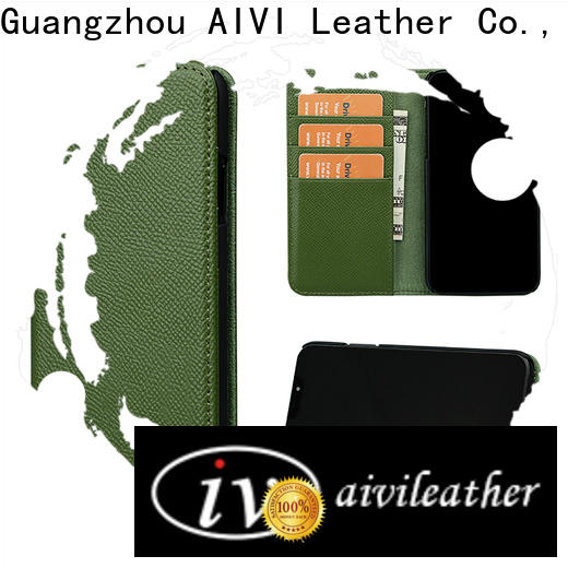 AIVI leather phone wallet online for iphone 8 / 8plus