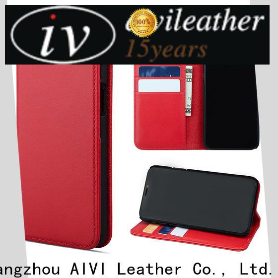 AIVI black leather iphone case for ipone 6/6plus