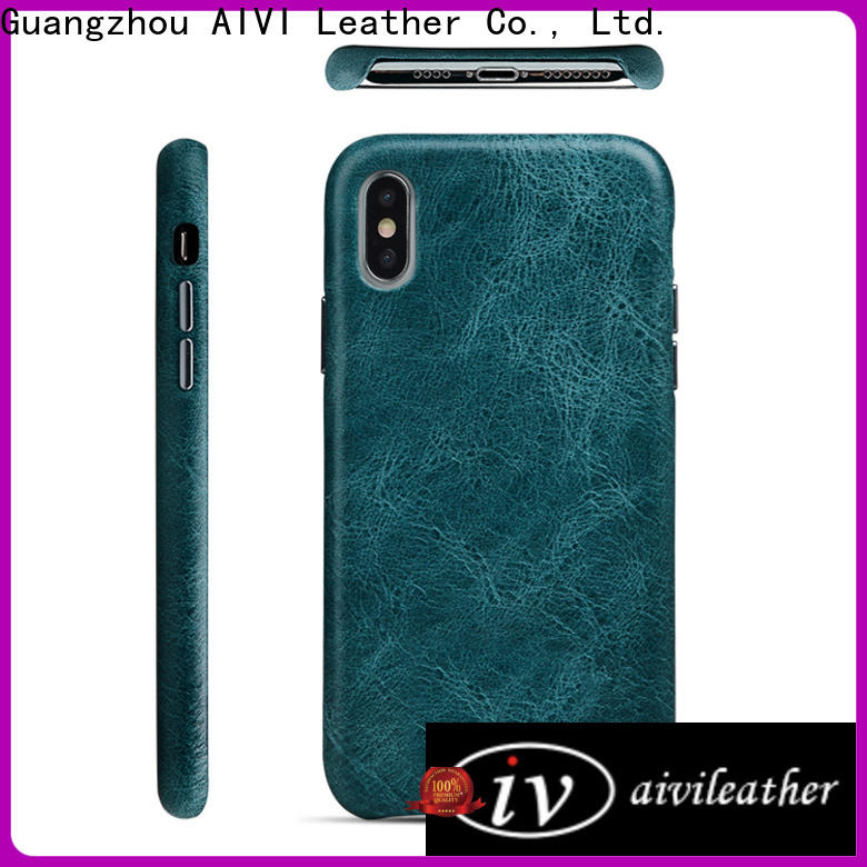 AIVI cool leather iphone wallet case for iphone XR