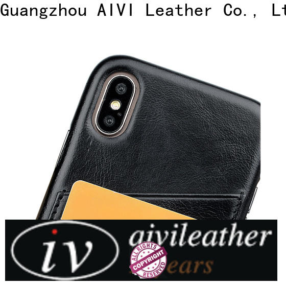 AIVI waterproof iphone leather flip case accessories for iphone X