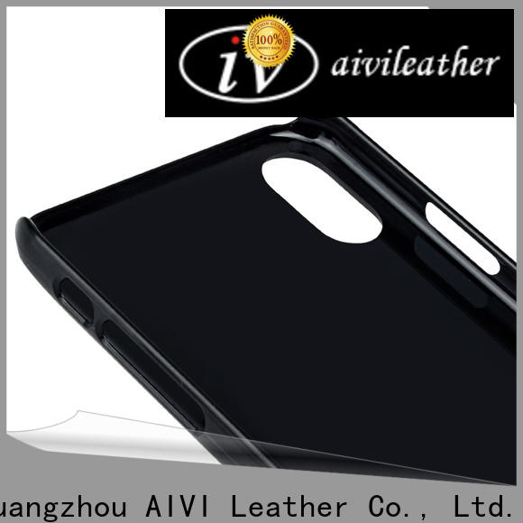 waterproof quality leather iphone case made factory for phone XS Max