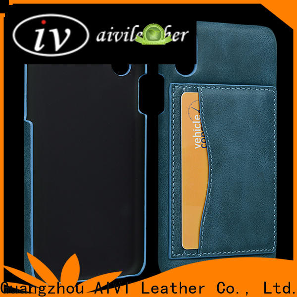 AIVI wallet leather wallet and phone case factory for iphone 8 / 8plus