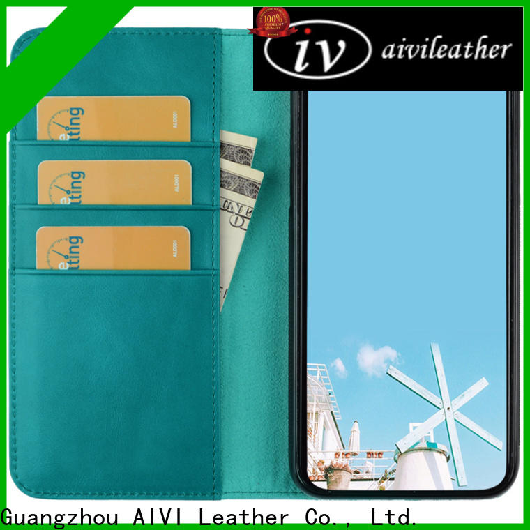 AIVI reliable leather credit card case for sale for iphone 7/7 plus