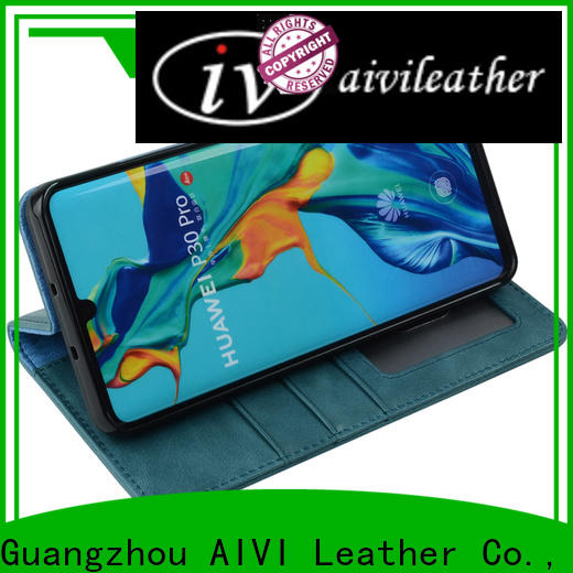 waterproof leather phone cases online for Huwei
