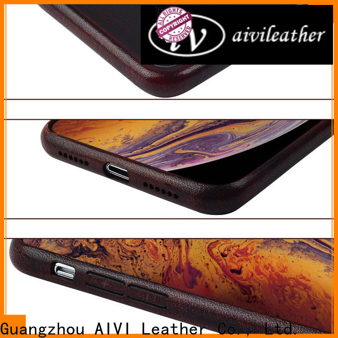 AIVI custom leather phone case for sale for iphone 7/7 plus