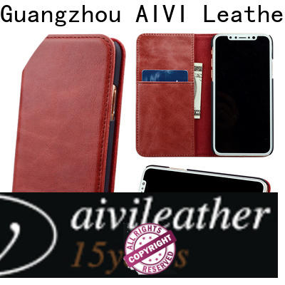 AIVI personalized leather iphone case for iphone XR