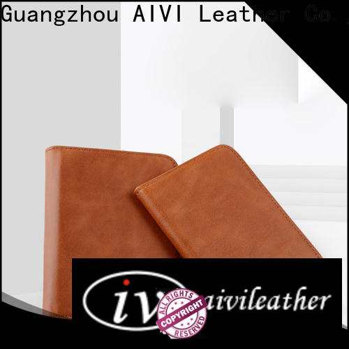 AIVI high quality leather card case wallet manufacturer for iphone XR