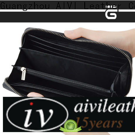 AIVI leather credit card wallet supply for iphone 8 / 8plus