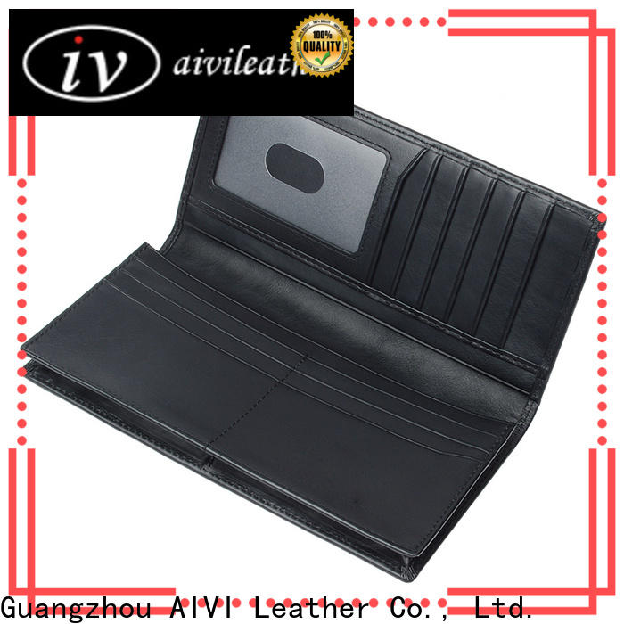 AIVI mens travel wallet easy to carry for men