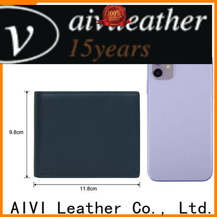 AIVI leather card case wallet manufacturer for iphone XR