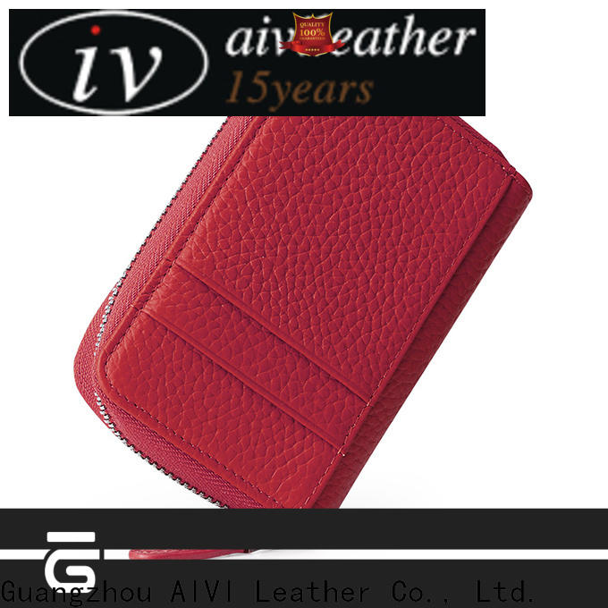 personalized leather card wallet factory for iphone 8 / 8plus