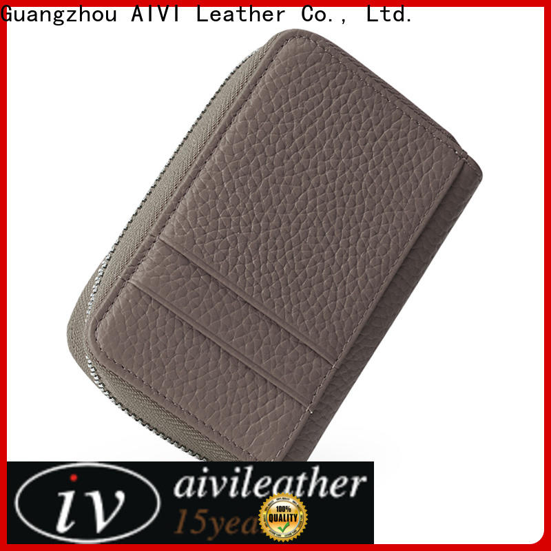 convenient leather card holder wallet online for iphone 8 / 8plus