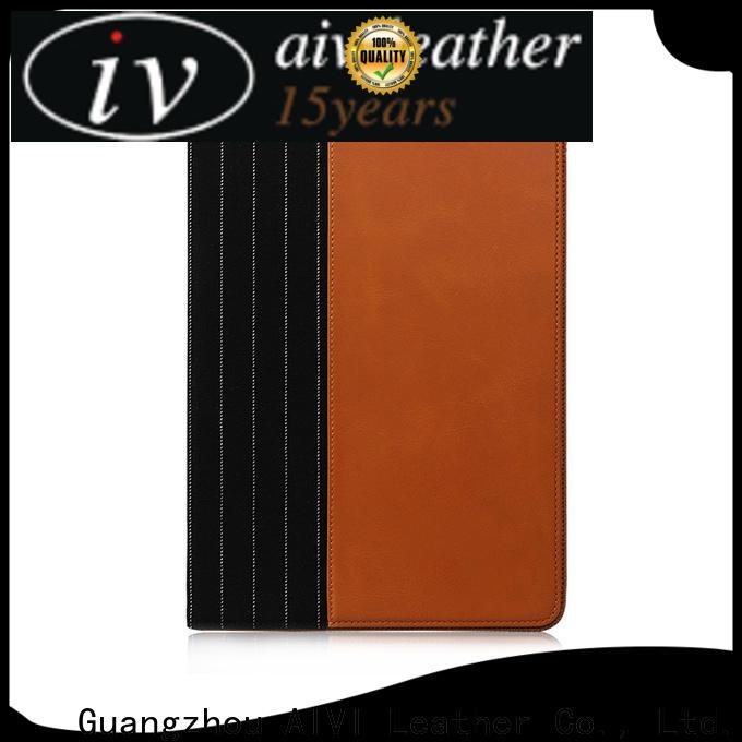 AIVI beautiful ipad leather case supply for IPad