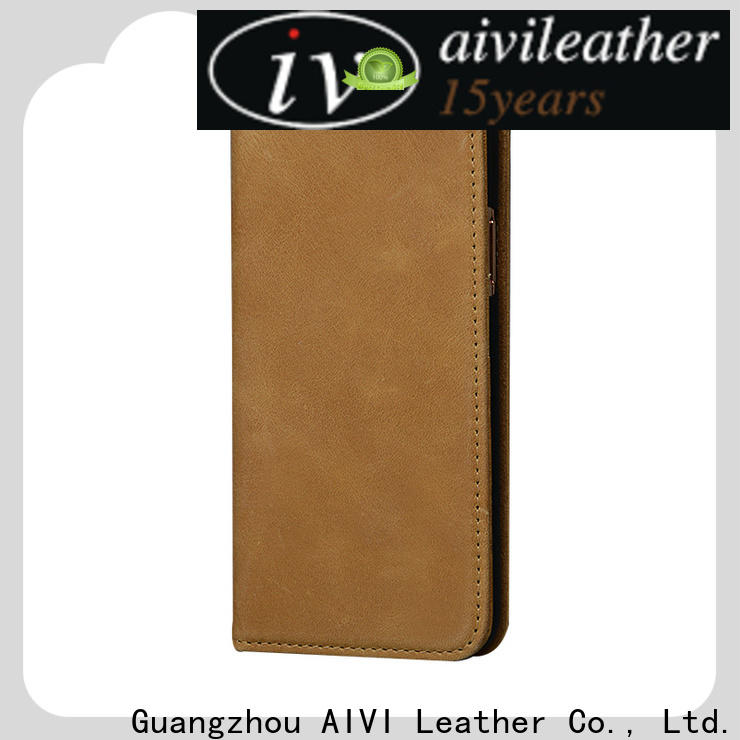 AIVI quality leather phone cases online for iphone XR
