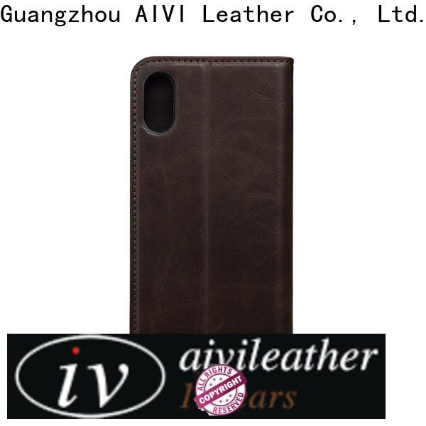 personalized mens leather phone case for iphone 8 / 8plus
