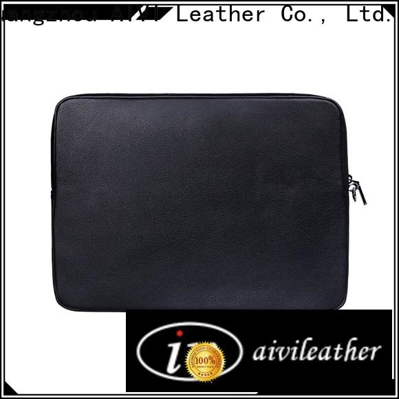 AIVI leather computer case easy to carry for laptop