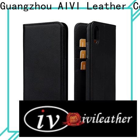 AIVI convenient custom leather phone case accessories for ipone 6/6plus