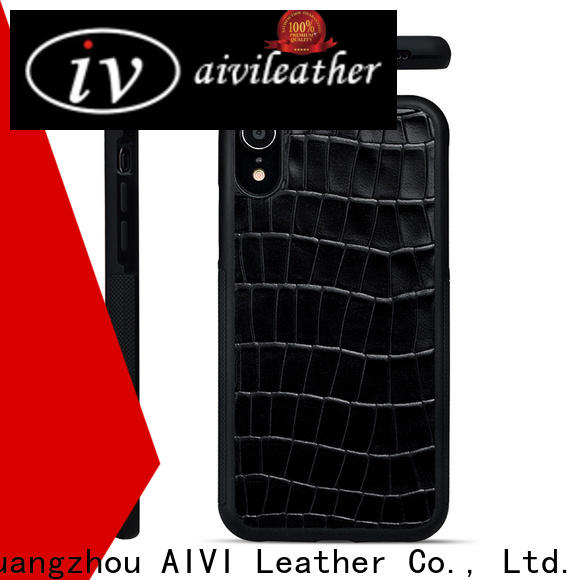 AIVI leather mobile phone covers protector for iphone 8 / 8plus