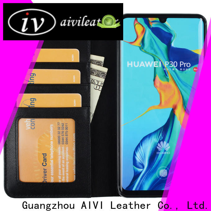 fashion leather phone cases online for Huwei