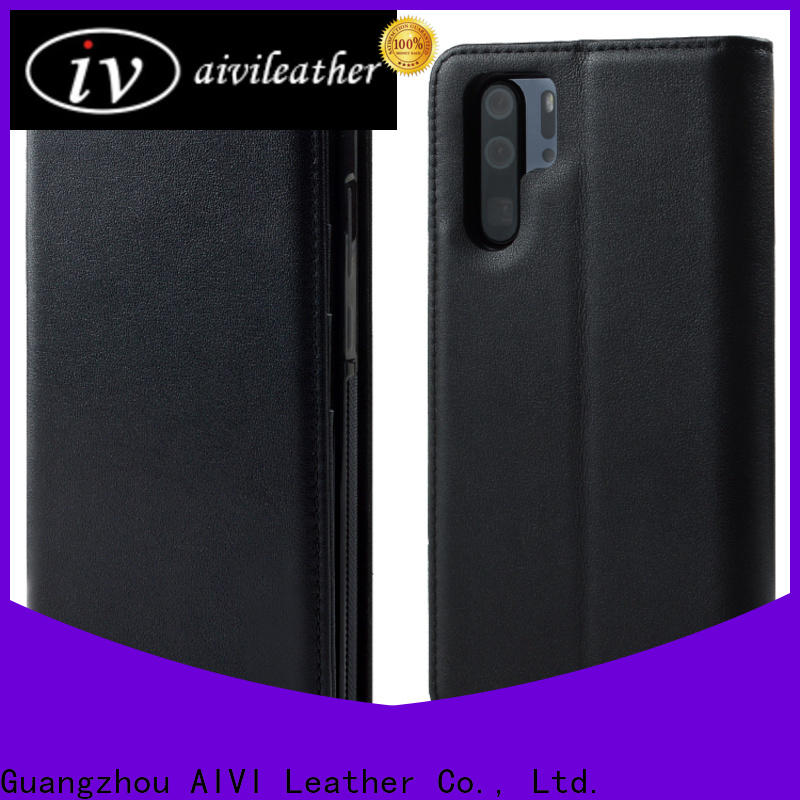 high quality leather phone cases for sale for HUAWEI P30