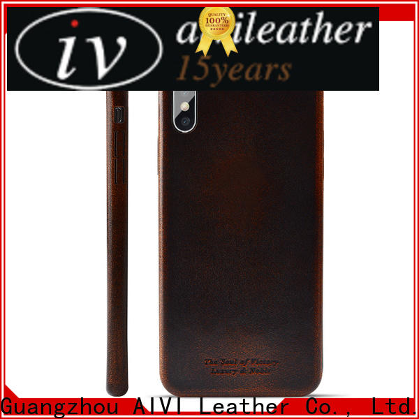 magnetic custom made leather iphone cases factory for iphone XR
