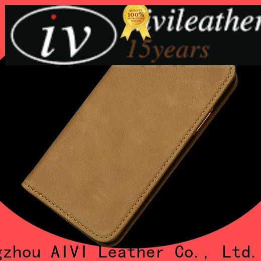 AIVI protective personalized leather iphone case for sale for iphone XR