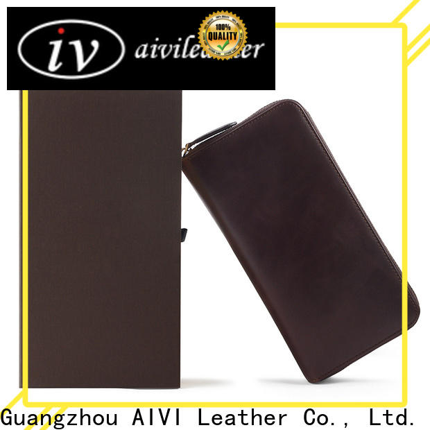 AIVI high quality leather card wallet for sale for iphone XR