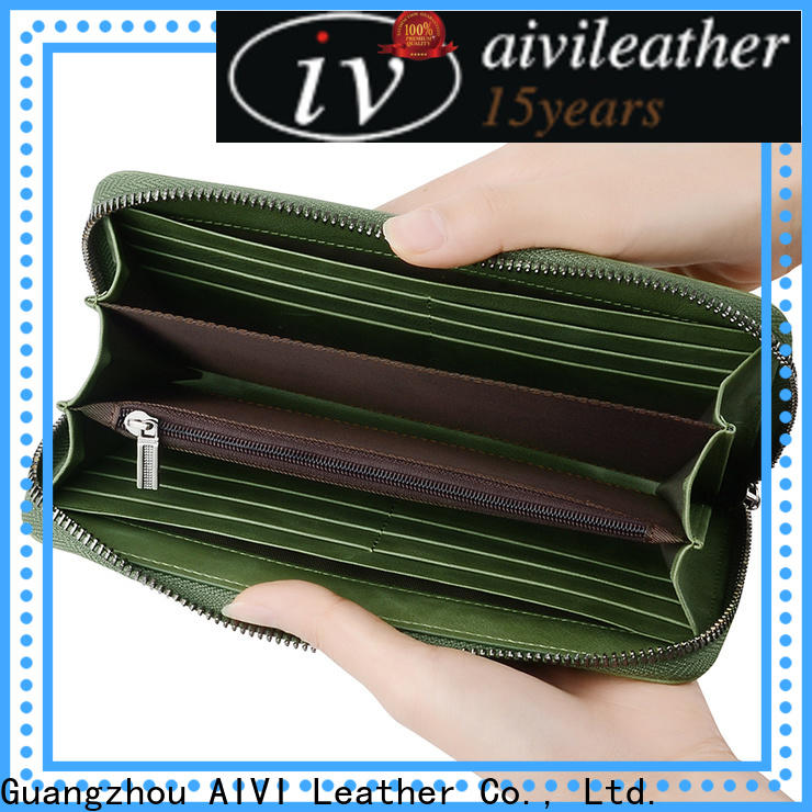 AIVI leather card holder wallet for sale for ipone 6/6plus