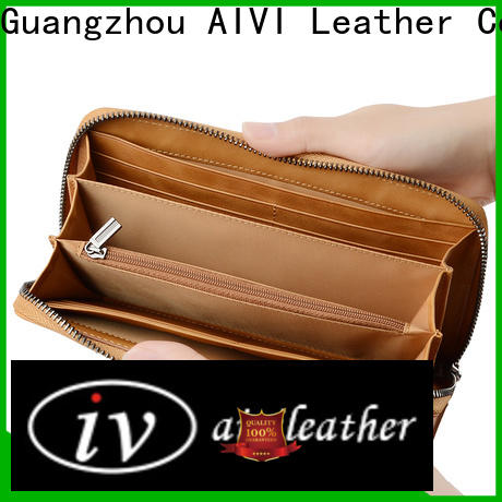 AIVI leather card case wallet manufacturer for iphone X