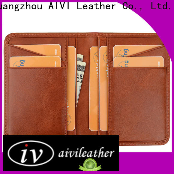 AIVI leather card holder wallet factory for iphone XS