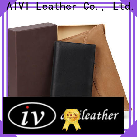 AIVI leather credit card case manufacturer for iphone X