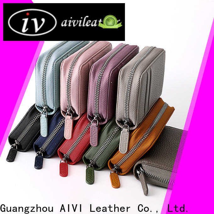 AIVI leather card holder wallet supply for ipone 6/6plus