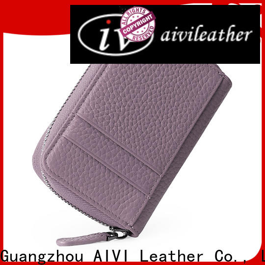 AIVI leather credit card wallet factory for iphone XS
