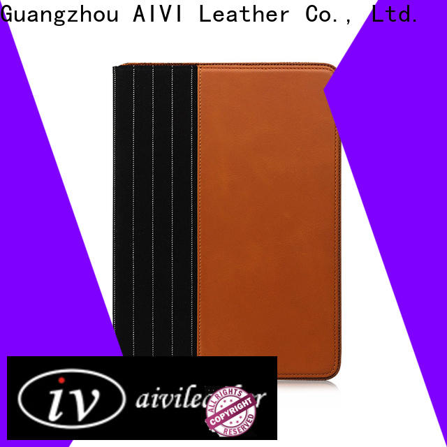 new arrive luxury leather ipad case factory for laptop