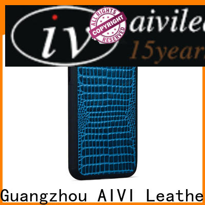 AIVI personalized leather iphone case for ipone 6/6plus
