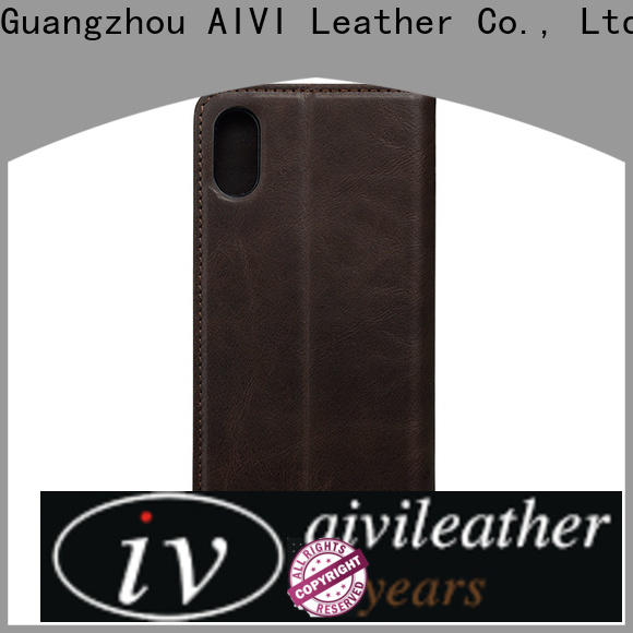 AIVI leather mobile phone covers for iphone 8 / 8plus