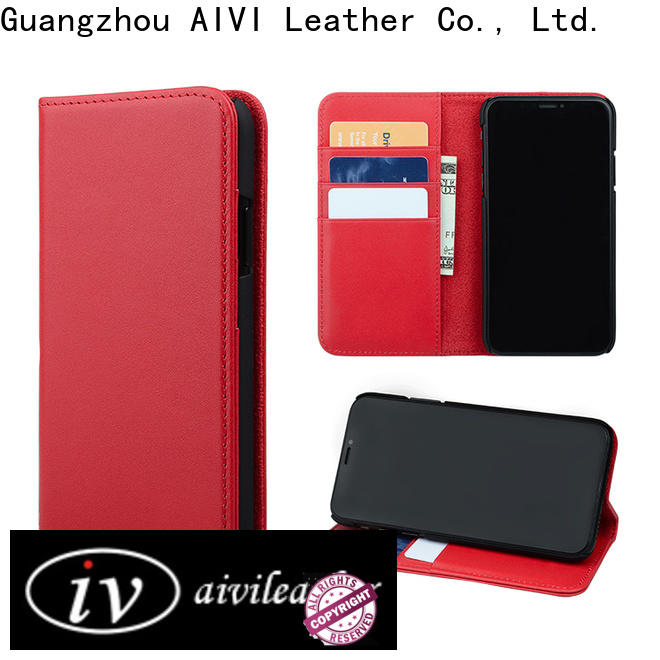 AIVI custom leather iphone case accessories for iphone X