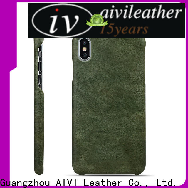 AIVI luxury leather phone cases for sale for iphone XR