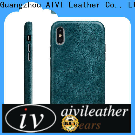 AIVI beautiful leather iphone wallet case protector for iphone XS