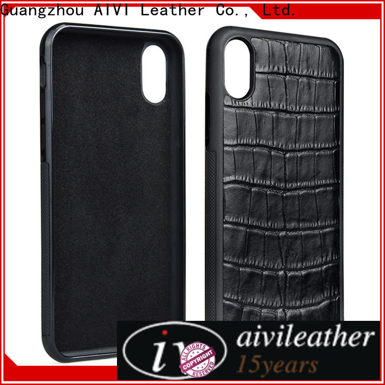 AIVI layer slim leather iphone case manufacturer for ipone 6/6plus
