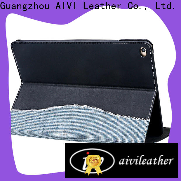 AIVI handcraft best leather ipad case for sale for computer
