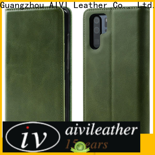 new arrive leather phone cases manufacturer for HUAWEI P30