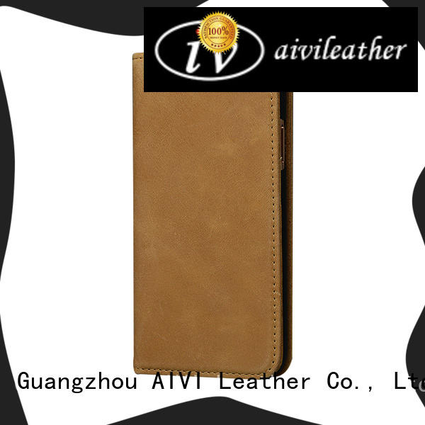 AIVI quality leather iphone case accessories for ipone 6/6plus