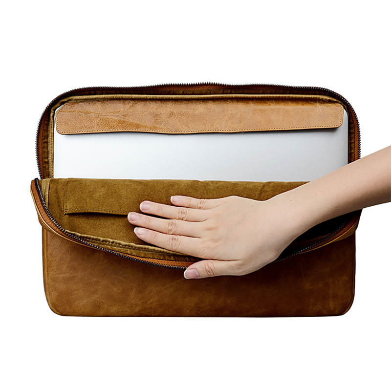 fashion leather notebook case for sale for computer-2