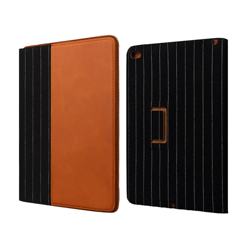 Ultrathin genuine leather material For Ipad Leather Case-2