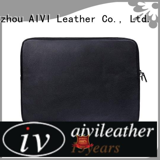 mens leather laptop case cases for travel AIVI