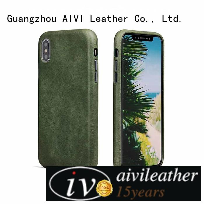 detachable custom leather phone case for sale for ipone 6/6plus AIVI