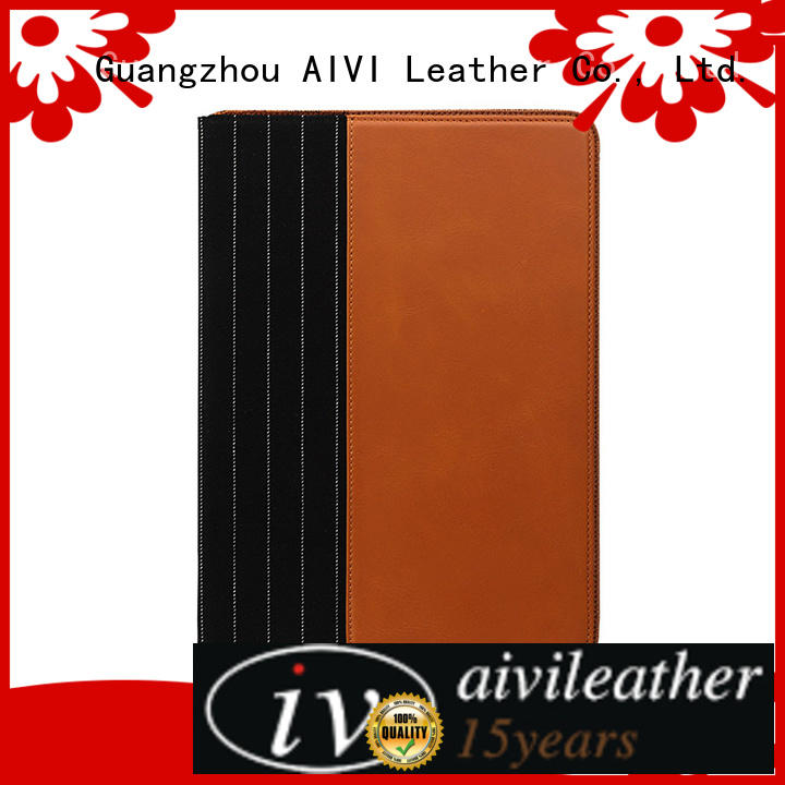 AIVI handmade genuine leather ipad case for sale for laptop