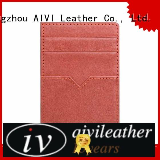 AIVI girls leather credit card case online for iphone X